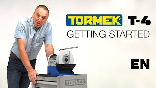 Tormek Т-4 заточка системи: початок роботи з Аланом Holtham