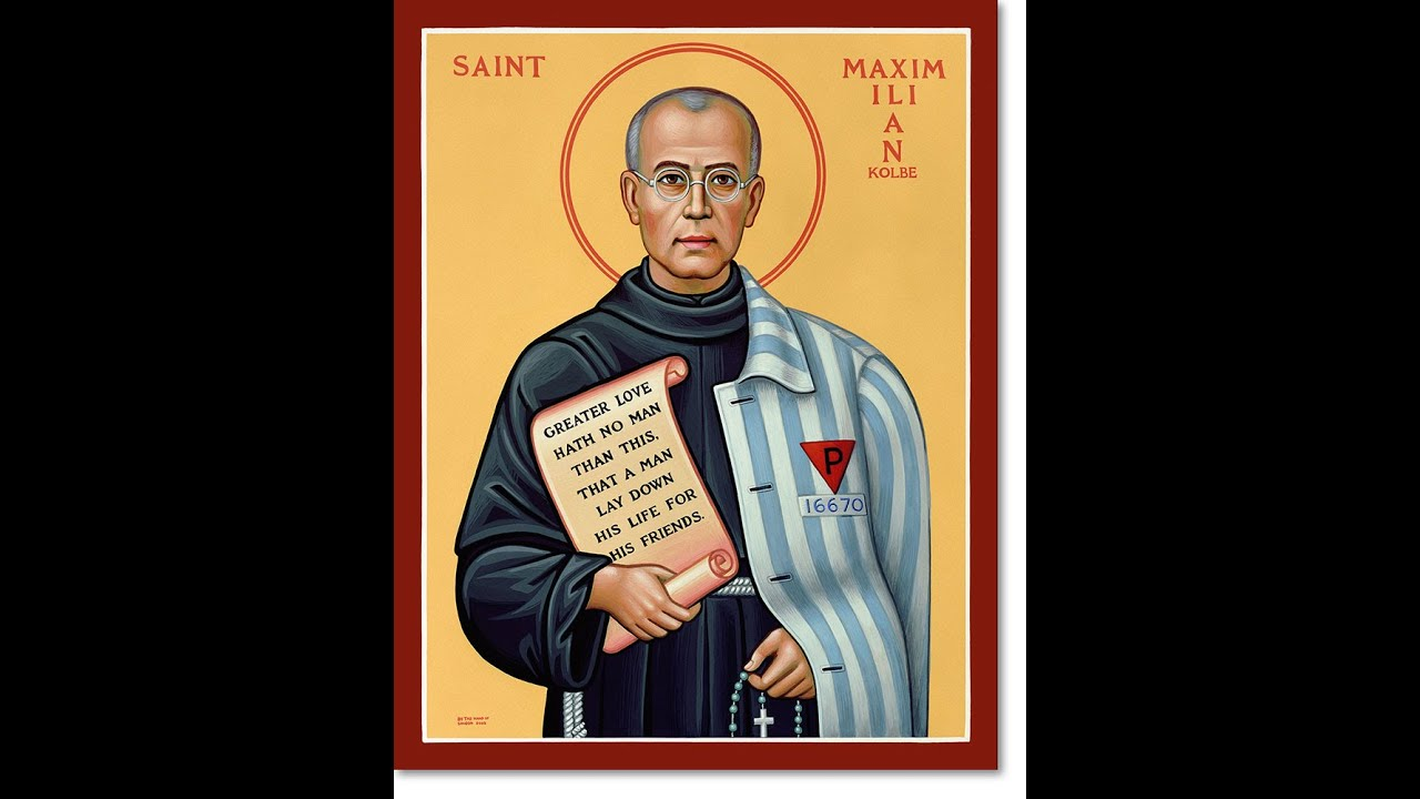 the life of st maximilian kolbe youtube. Black Bedroom Furniture Sets. Home Design Ideas
