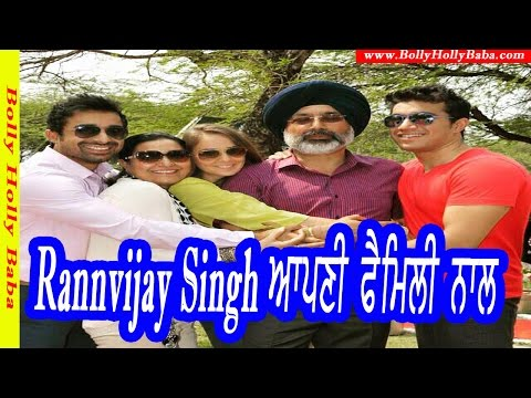 Rannvijay Singh | With Family | Wife | Mother | Father | Biography | Children | Wedding Pics
