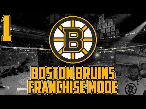"NHL 17 - Boston Bruins Franchise Mode #1 ""Setting Up"""
