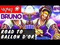 Road To Ballon D'Or [Rank 8 Bruno] | чqчq ❀ Bruno Gameplay and Build #4 Mobile Legends