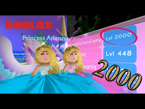 REACHING LEVEL 2000! QUEEN OF ROYALE HIGH! - Royale High School (Part 11) - Roblox