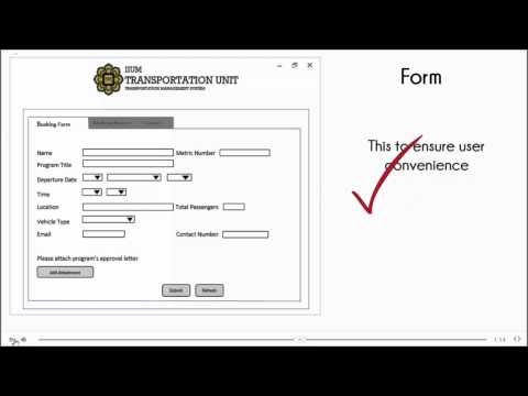 IIUM Transportation Management System