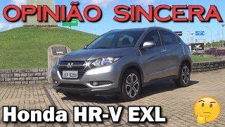 Mostrando os detalhes do Honda HR-V modelo EXL e tentando entender ...