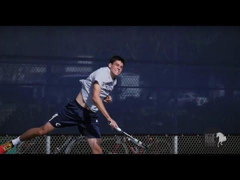 UC Davis Mens Tennis vs  USF Dons