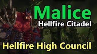 Malice Vs. Hellfire High Council - Mythic - Retribution Paladin (EU-Draenor)