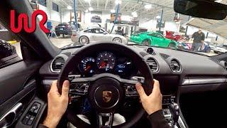 2017 Porsche 718 Cayman S - Tedward POV Test Drive