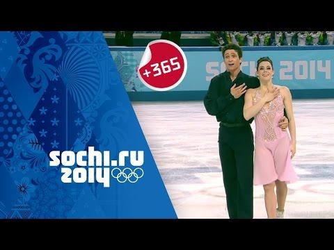 Canada's Tessa Virtue & Scott Moir on their Ice Dancing Silver at Sochi | #Sochi365