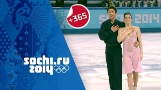 Olympics: Canada's Tessa Virtue & Scott Moir on their Ice Dancing Silver at Sochi | #Sochi365