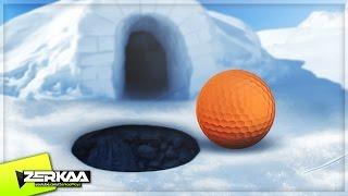 THE GOLF SNOW DOME! (Golf It!)