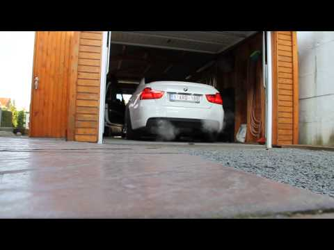 BMW 335i N54 Akrapovic Coldstart (Full Catless)
