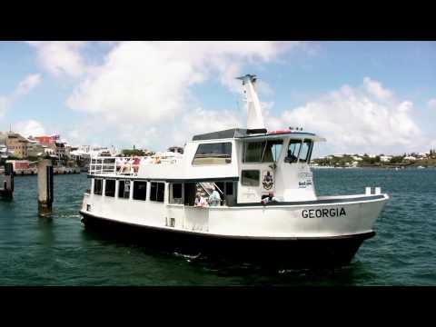 Bank Of Bermuda And Hamilton Ferry Terminal