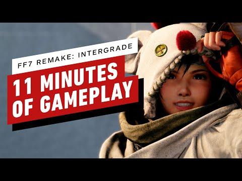 11 Minutes of Final Fantasy 7 Remake: Intergrade - Yuffie Gameplay