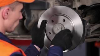 Se en videoguide om hvordan du skifte MERCEDES-BENZ A-CLASS (W168) Bremsebelegg