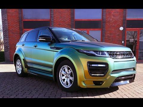 Range Rover Evoque >> Range Rover Evoque Chameleon Vinyl Wrap - YouTube
