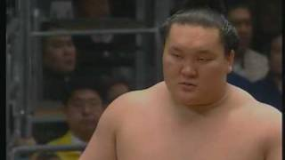 2008年大相撲春場所千秋楽(朝青龍対白鵬) 修正版