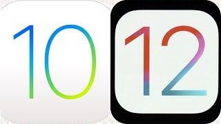 Iphone 6 IOS 10.3.3  vs Iphone 6 IOS 12.0