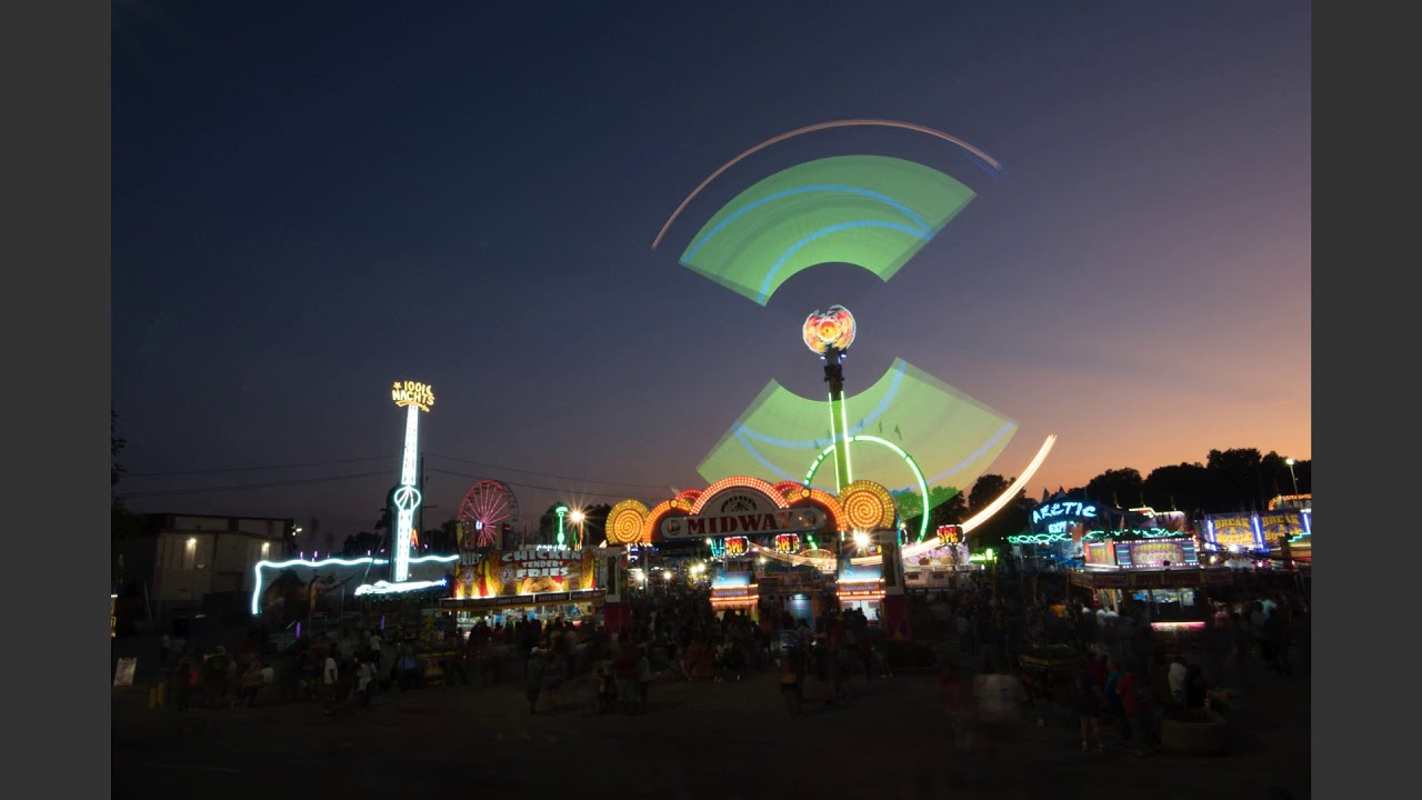 Indiana State Fair Midway- August 10, 2019