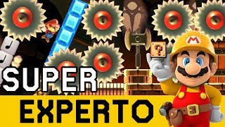 ¿JAPO NO PILLO Y NO LOCO? 😨 - SUPER EXPERTO NO SKIP   Super Mario Maker - ZetaSSJ