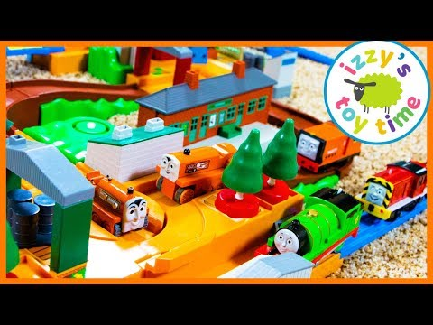 Thomas and Friends TOMY Trackmaster Thomas Terence Deluxe! Fun Toy Trains for Kids
