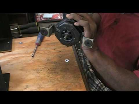 Disassembling A Two Speed Leslie Upper Motor Stack