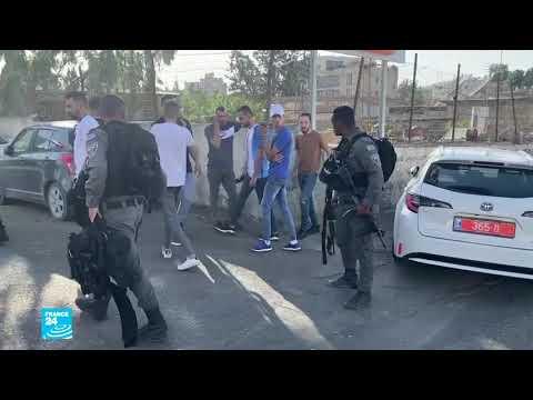 إصابة أربعة عناصر من الشرطة الإسرائيلية في عملية دهس بسيارة بالقدس الشرقية  - نشر قبل 5 ساعة