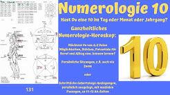 Die Zahl 10 - Ganzheitliches numerologisches Betrachten