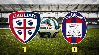 Video Gol Pertandingan Cagliari vs Crotone