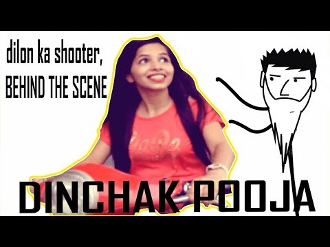 Dhinchak Pooja | Dilon ka ch**tad | (EXCLUSIVE BEHIND THE SCENE FOOTAGE)