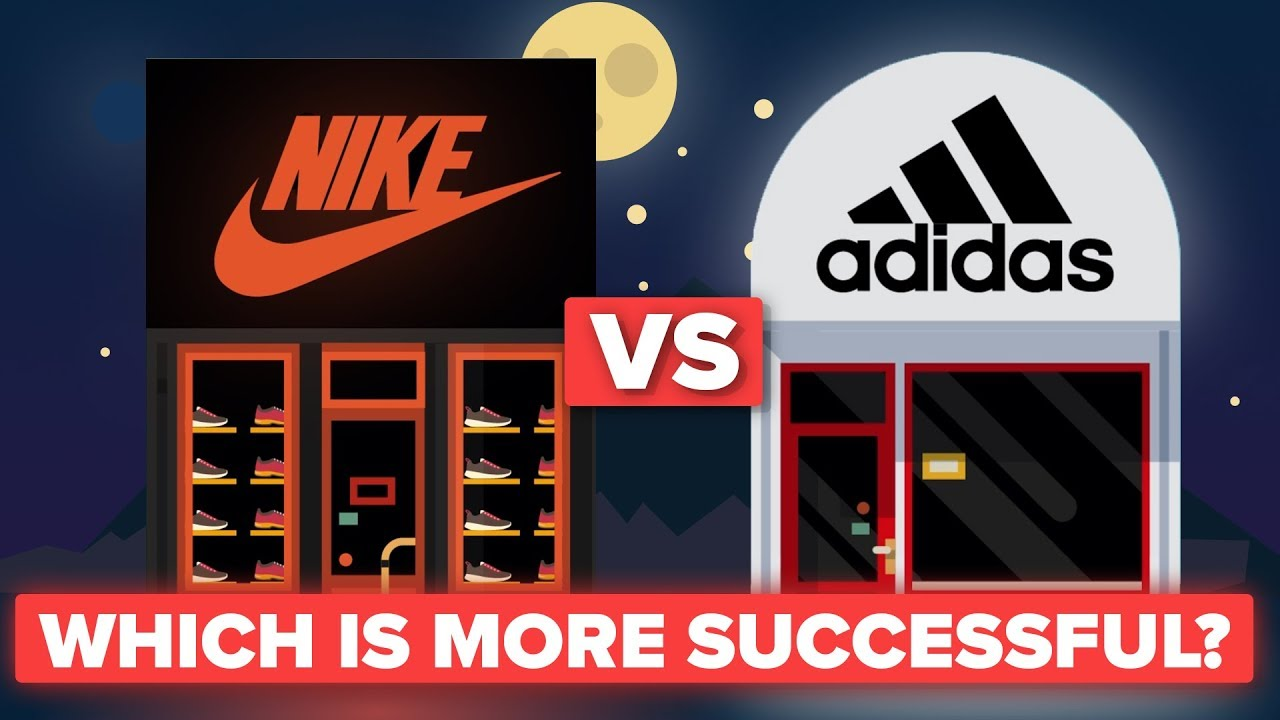 Is Nike More Successful Than Adidas Shoe  Apparel Company Comparison  YouTube