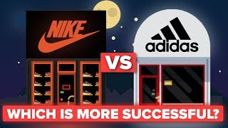 Is Nike More Successful Than Adidas? Shoe / Apparel Company Comparison thumbnail