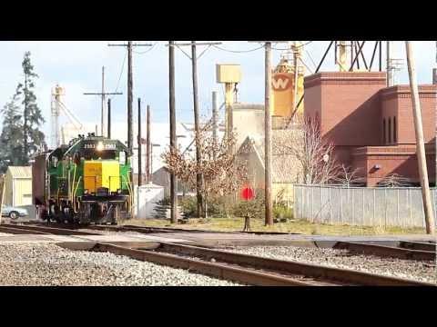 Railfanning the Willamette Valley, March 2012