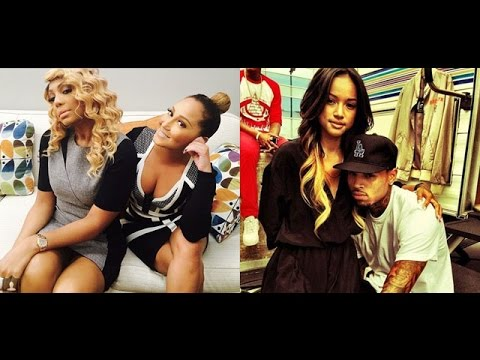 Chris Brown refuses to apologize for roasting Adrienne Bailon & Tamar Braxton