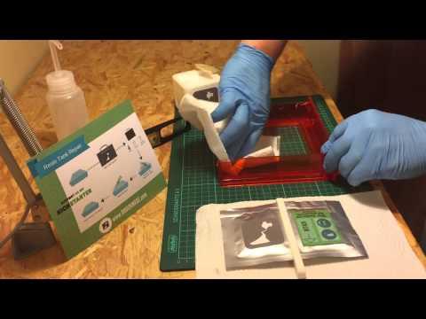 APPLY RECOAT 3/4 Clean Resin Vat