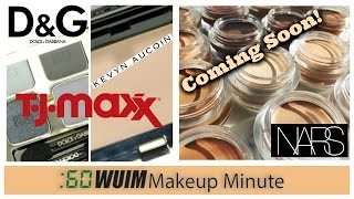 Makeup Minute | DOLCE & GABBANA + KEVYN AUCOIN AT TJMAXX! + NEW Concealers Coming Soon from NARS!