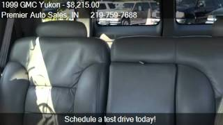 1999 GMC Yukon SLT 4dr 4WD SUV for sale in Valparaiso, IN 46