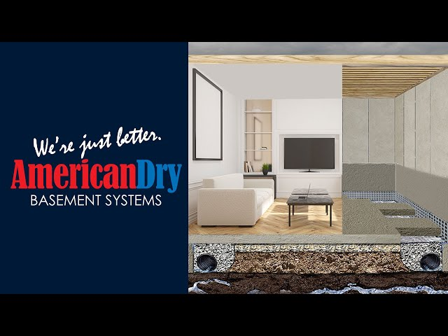 Basement Waterproofing CT & NY | American Dry Basement Systems