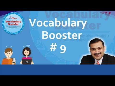 PT's Vocabulary Booster - PT-VB 9 - for competitive exams