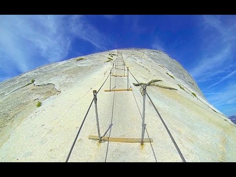 Climbing Half Dome Cables | Yosemite National Park | GoPro