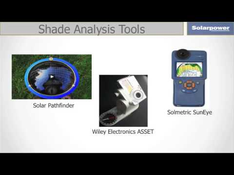 Making Smart Solar Site Assessments