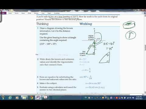 Trigonometry   Part 5 Bearings & Navigation