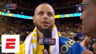 Steph Curry says he 'expected' to bounce back in Game 3 against Houston Rockets | ESPN