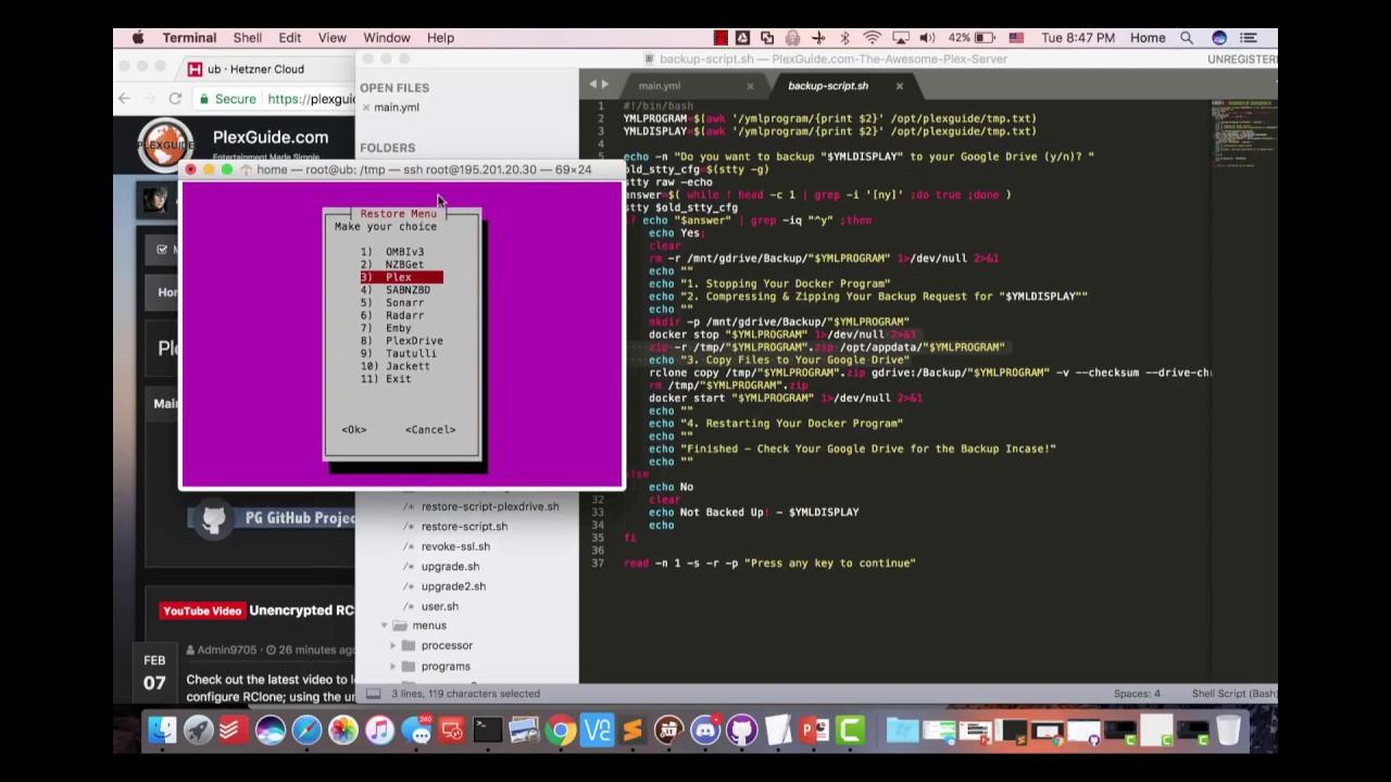 PlexGuide: Ansible & Docker 101