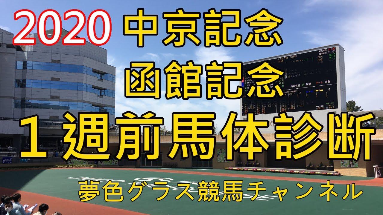 【馬体診断】2020中京記念&函館記念!阪神で行われる中京記念は馬場凹凹?函館記念は2頭だけ