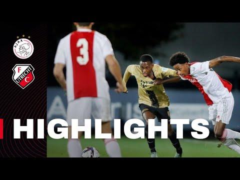 Jong Ajax Jong Utrecht Goals And Highlights
