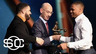 Stephen A. Smith Says Kevin Durant Fueled Russell Westbrook's MVP Season  | SportsCenter | ESPN thumbnail