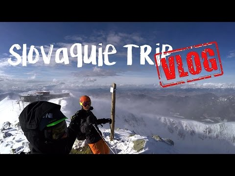 WINTERACTIVITY Vlog1 - Skier en Slovaquie - Jasna adrenaline
