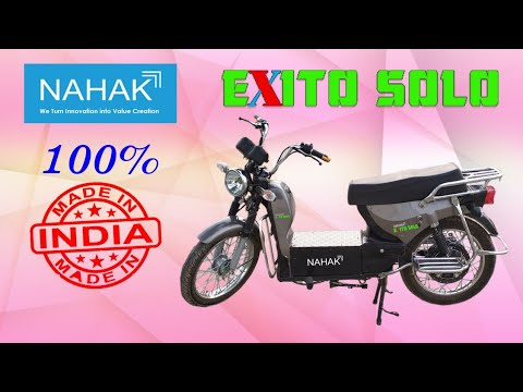Download Nahak Exito Solo || 100% Made in India 🇮🇳 Electric Moped || #GOGREEN #electricmobility #NahakMotors
