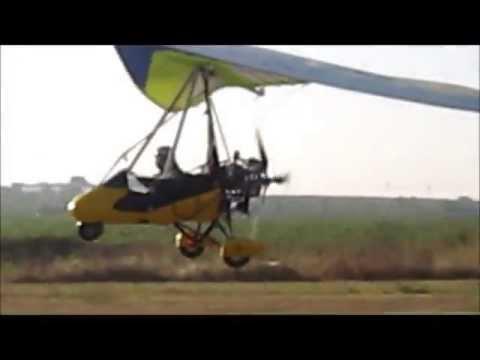 Volo Con Deltaplano A Motore
