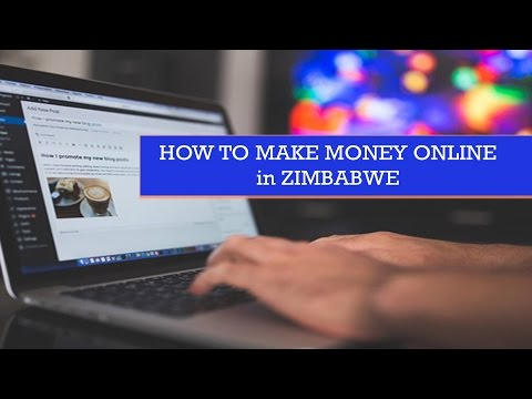 How you can make money online in Zimbabwe